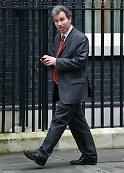 © Licensed to London News Pictures. 23/10/2012. Westminster, UK Oliver Letwin. Ministers attend a Cabinet Meeting in 10 Downing Street today 23 October 2012. Photo credit : Stephen Simpson/LNP