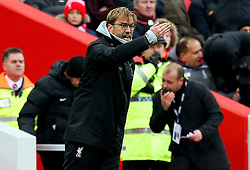 Liverpool manager Jurgen Klopp reacts in frustration - Mandatory by-line: Matt McNulty/JMP - 21/01/2017 - FOOTBALL - Anfield - Liverpool, England - Liverpool v Swansea City - Premier League