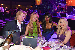 Left to right, NICKY CLARKE, KELLY SIMPKIN, SINITTA and MELINDA MESSENGER at the Caudwell Children's annual Butterfly Ball held at The Grosvenor House Hotel, Park Lane, London on 15th May 2014.