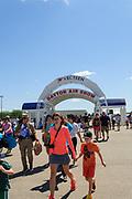 Vectren Dayton Air Show at Dayton International Airport in Vandalia, OH.