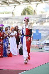 August 10, 2018 - Paris, FRANCE - Lancer de sac a mains (Credit Image: © Panoramic via ZUMA Press)