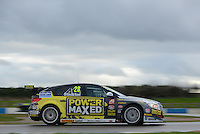#28 Chris Stockton (GBR) - Power Maxed Racing Chevrolet Cruze. 2014 BTCC Media Day. Donington Park, Derby, United Kingdom. 18th March 2014. World Copyright: Peter Taylor/PSP. Copy of publication required for printed pictures. Every used picture is fee-liable.