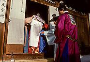 KR251 Weddings in South Korea, Marriage traditionnel en Coree du Sud