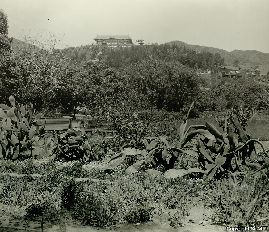 1918 Bernheimer estate in the hills above Hollywood. Today it is the Yamashiro