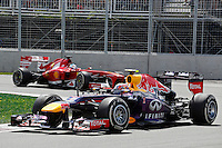 MOTORSPORT - F1 2013 - GRAND PRIX OF CANADA - MONTREAL (CAN) - 07 TO 09/06/2013 - PHOTO FRANCOIS FLAMAND / DPPI - WEBBER MARK (AUS) - RED BULL RENAULT RB9 - ACTION