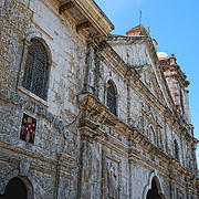 The Basilica del Santo Nino in Cebu City before the structure was heavily damaged in 7.2 earthquake that rocked the Visayas region in October.