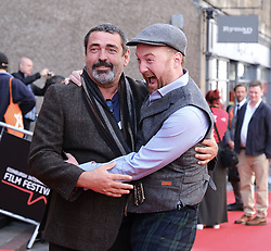 Edinburgh International Film Festival 2019<br /> <br /> Mrs Lowry (UK Premiere, closing night gala)<br /> <br /> Pictured: Angus MacFadyen and Richard Grey<br /> <br /> Aimee Todd   Edinburgh Elite media