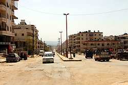 Situation in Afrin, northern Syria, on March 19, 2018, after taking control of Syria's Afrin city by Turkish Army force and Turkish-backed Free Syrian Army militias. The northern Syrian town has been the target of Turkish army and Ankara's two-month offensive against a Kurdish militia group it views as terrorists. Photo by Dha/Depo Photos/ABACAPRESS.COM