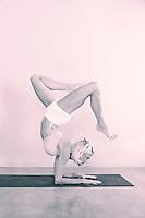 Female yogi.