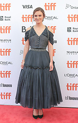 Actress Keira Knightley attends the gala screening of the film Colette at the Princess of Wales Theatre in Toronto as part of the Toronto International Film Festival