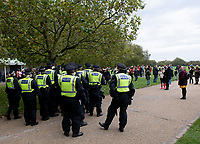 Save our Children  rally at Hyde Park and March to the BBC 10th oct 2020 photo Brian Jordan