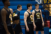 Southeastern Oklahoma State sophomore James Donelan looks on during basketball practice in Durant, Oklahoma on January 27, 2017.  (Cooper Neill for The New York Times) in Durant, Oklahoma on January 27, 2017.  (Cooper Neill for The New York Times)
