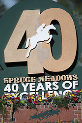 40 Years Spruce Meadows <br /> Cana Cup<br /> Spruce Meadows Masters - Calgary 2015<br /> © Hippo Foto - Dirk Caremans<br /> 11/09/15