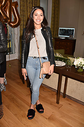 Roxie Nafousi at the Rosie Fortescue Jewellery Launch, Brown's Hotel London England. 10 May 2017.<br /> Photo by Dominic O'Neill/SilverHub 0203 174 1069 sales@silverhubmedia.com
