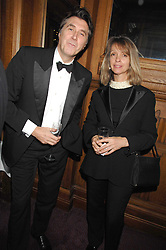 BRYAN FERRY and SABRINA GUINNESS at a gala in aid of the Raisa Gorbachev Charitable Foundation in honour of the late Russian dancer Maris Liepa held at The London Coliseum, London on 24th February 2008.<br />