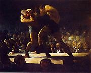 George Wesley Bellows, American (Ashcan School) Painter, 1882-1925.'Club Night' 1907