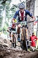 Jake Yackle (USA) at the 2018 UCI MTB World Championships - Lenzerheide, Switzerland