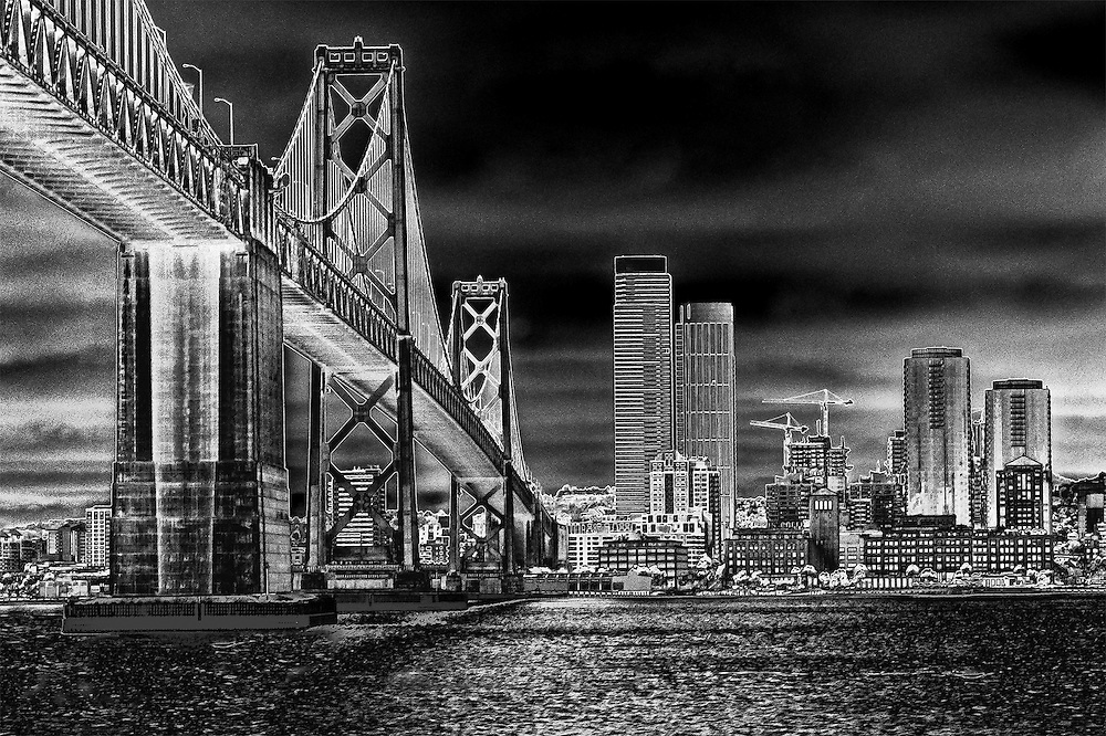 San Francisco from the Ferry, Digital Solar