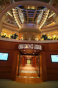 Royal Caribbean International's  Independence of the Seas, the world's largest cruise ship...Onboard feature pictures...Conference centre