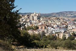 Biccari-veduta dai pressi del convento