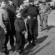 """Werewolves"", German children caught bearing arms asgainst Americans. All were scared and wanted only to know when they could go hom"