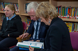 Pictured: Professor Keith Bell and Roseanna Cummingham<br />