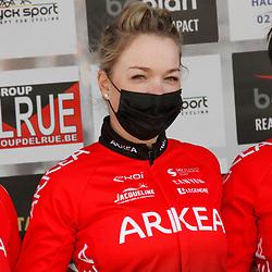 14-03-2021: Wielrennen: GP Oetingen: Oetingen: Charlotte Becker