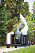 Air Disaster Memorial Sculpture at Cerritos Sculpture Garden