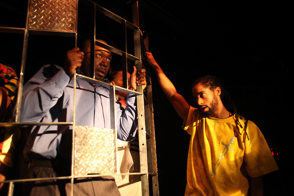 The Task by Heiner Muller. Produced by The Castillo Theater. New York, NY 2010