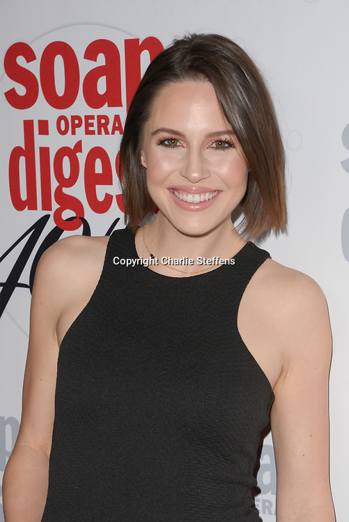 KAITLIN RILEY at Soap Opera Digest's 40th Anniversary party at The Argyle Hollywood in Los Angeles, California at Soap Opera Digest's 40th Anniversary party at The Argyle Hollywood in Los Angeles, California