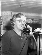 Mrs Letham, Post Mistress, Clontibret, Co Monaghan.04/04/1957