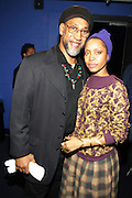 New York, NY- December 5: l to r: Hip Hop Godfather Kool Herc and Recording Artist Erykah Badu performs at the Science of Addiction Tour 2011 AD featuring Erykah Badu and the Cannibinoids with Theophilus London held at the Best Buy Theater on December 5, 2011 in New York City. Photo credit: Terrence Jennings