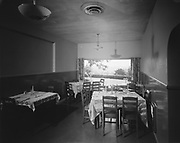 """Ackroyd 00825-4. """"Redmond's On The Hill. July 13, 1948"""" (9589 Southwest Barbur Blvd. Portland, later it became Ford's Restaurant, which recently went out of business)"""