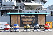 Retired USS Iowa BB-61 WWII Battleship Museum in San Pedro