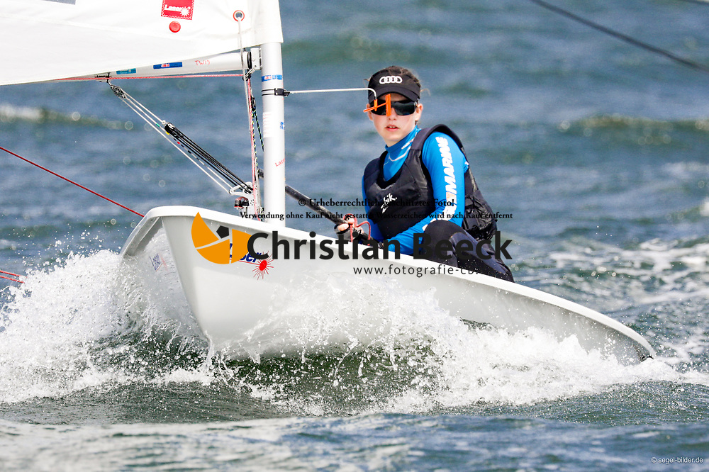 , Travemünder Woche 19. - 28.07.2019, Laser 4.7 - GER 210155 - Marie Christin HACKER - Hannoverscher Yacht-Club e. V