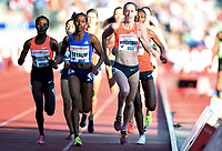 Friidrett ,  11. juni 2015 , Diamond League , Bislett Games , Oslo<br />  Atheltics<br /> 1500 m<br /> Dawit Seyaum , ETH<br /> Laura Weightman , GBR