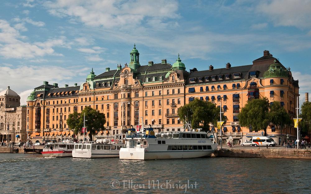 Commercial and Residential Building at Strandvagen 1-5 in Ostermalm, Stockholm, Sweden