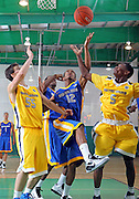 April 8, 2011 - Hampton, VA. USA; Aaron Bacote participates in the 2011 Elite Youth Basketball League at the Boo Williams Sports Complex. Photo/Andrew Shurtleff