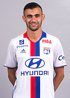 Rachid Ghezzal during the photocall of Lyon for new season of Ligue 1 on September 22nd 2016 in Lyon<br /> Photo : OL / Icon Sport
