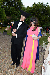 RUPERT EVERETT and ? at The Animal Ball in aid of The Elephant Family held at Lancaster House, London on 9th July 2013.