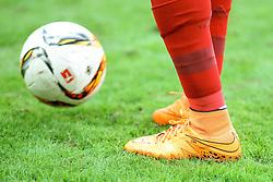 04.08.2015, Allianz Arena, Muenchen, GER, AUDI CUP, FC Bayern Muenchen vs AC Mailand, im Bild Fuflballschuh von Robert Lewandowski (FC Bayern Muenchen #9) // during the 2015 AUDI Cup Match between FC Bayern Muenchen and AC Mailand at the Allianz Arena in Muenchen, Germany on 2015/08/04. EXPA Pictures © 2015, PhotoCredit: EXPA/ Eibner-Pressefoto/ Schüler<br /> <br /> *****ATTENTION - OUT of GER*****
