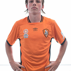 BRISBANE, AUSTRALIA - MARCH 17: Finn Beakhurst poses for a photo during the Brisbane Roar Youth headshot session at QUT Kelvin Grove on March 17, 2017 in Brisbane, Australia. (Photo by Patrick Kearney/Brisbane Roar)
