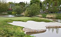 BADHOEVEDORP - GOLF - Hole 4 van Amsterdam International Golfbaan, bij Schiphol. FOTO KOEN SUYK