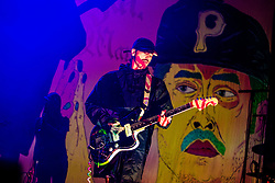 July 3, 2018 - Milan, Italy - John Baldwin Gourley of the Portugal. The Man in concert at Fabrique in Milano, Italy, on July 3 2018  (Credit Image: © Mairo Cinquetti/NurPhoto via ZUMA Press)