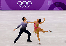 February 12, 2018 - Gangneung, South Korea - Kana Muramoto and Chris Reed of japan compete during the Team Event Ice Dance Free Dance at the PyeongChang 2018 Winter Olympic Games at Gangneung Ice Arena on Monday February 12, 2018. (Credit Image: © Paul Kitagaki Jr. via ZUMA Wire)