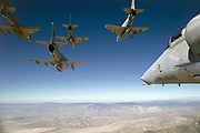 A-4 Skyhawks, Marines, pod shot