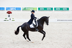 Mikaela Lindh, (FIN), Skovlunds Mas Guapo - Grand Prix Team Competition Dressage - Alltech FEI World Equestrian Games™ 2014 - Normandy, France.<br /> © Hippo Foto Team - Leanjo de Koster<br /> 25/06/14