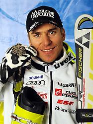 18.02.2011, Kandahar, Garmisch Partenkirchen, GER, FIS Alpin Ski WM 2011, GAP, Herren, Riesenslalom, im Bild silber Medaille Cyprien Richard (FRA) // silver medal Cyprien Richard (FRA) during men's Giant Slalom Fis Alpine Ski World Championships in Garmisch Partenkirchen, Germany on 18/2/2011. EXPA Pictures © 2011, PhotoCredit: EXPA/ E. Spiess