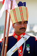 A member of the Sixty First Cavalry Guard in India