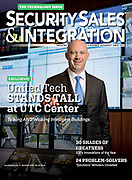 Alex Housten photographed for Security Sales & Integration Magazine